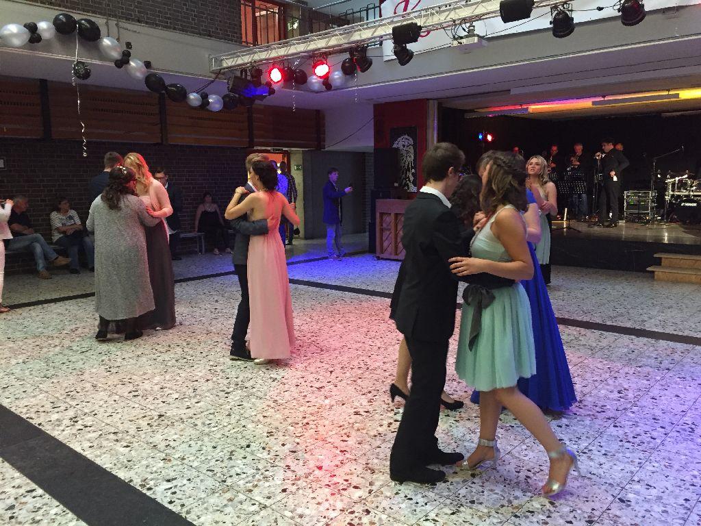 Tanz in der Aula
